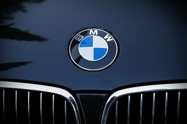BMW logo motorkap
