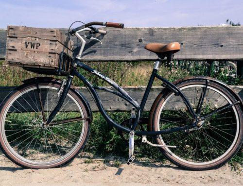 fietskratten, fietsmanden en fietstassen komen weer helemaal in de mode