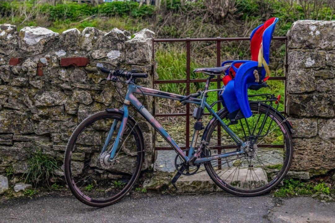 kinderzitje-fiets
