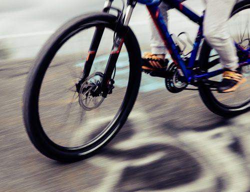 Het avontuur met de fietsbanden en de kinderzitjes